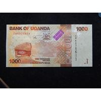 Уганда 1000 шиллингов 2017г UNC