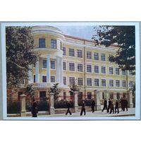Минск. Мужская средняя школа 4. 1954 г. Чистая