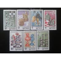 Гвинея-Бисау 1983 Шахматы полная Mi-8,0 евро