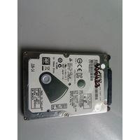 """Жесткий диск для ноутбуков 2.5"""" SATA 500Gb Hitachi HTS545050A7E680 (906423)"""