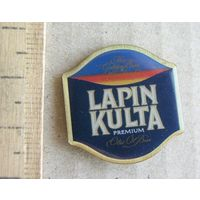 Значок ПИВО LAPIN KULTA ( Финляндия )