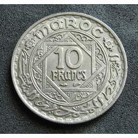 Фр. Марокко 10 франков 1947