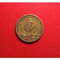 Восточные Карибы 5 центов, 1965