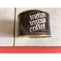 Банка жестяная от кофе Индия 80-90 гг