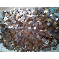 6,5 кг монет мира!!!
