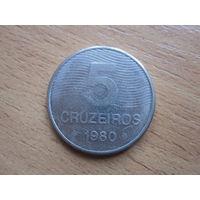 5 Крузейрос 1980 (Бразилия)