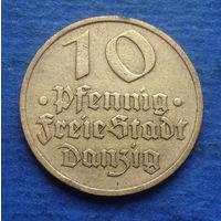 Данциг (Гданьск) 10 пфеннигов 1932