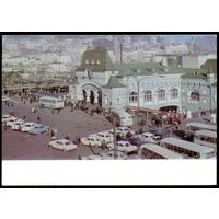 СССР ДМПК 1972 Владивосток жд вокзал автомобили
