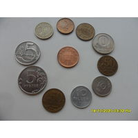 Набор монет лот 33 /цена за все/