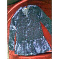 Блузка (рубашка) на девочку ростом 134-140 см