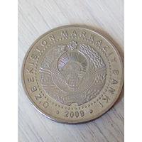 Узбекистан 100 сом 2009г.