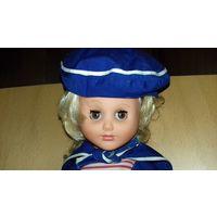 Кукла времён СССР 40 см. в костюме матроса
