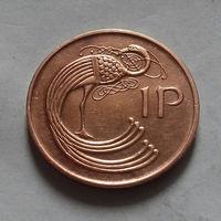 1 пенни, Ирландия 1980, 1988 г.