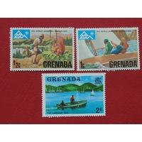 Гренада 1975г. Скауты.