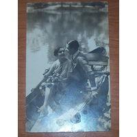 Старая фото-открытка 1930 год.Франция.