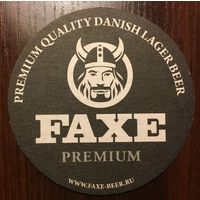 Подставка под пиво Faxe /Россия/