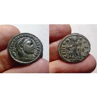 Римская Империя, Максимин II Даза как Император и Август, нуммий (фоллис), 312-313 годы, г. Кизик. 23 мм. Редкий.