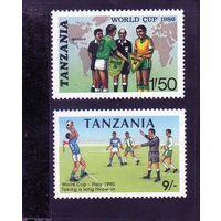 Танзания.Спорт.Футбол.Чемпионат мира Мехико-1986,Италия-1990.