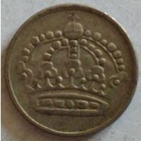 Швеция 25 эре 1959 серебро