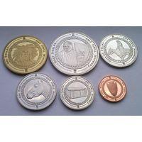 США Индейская Резервация КОМАНЧЕЙ годовой набор 2019 года 6 монет от 1 цента до 1 доллара