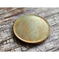 Ангола. 100 кванз 2015 - 40 лет независимости. Заготовка для юбилейной монеты, сталь с латунным покрытием.