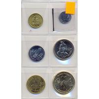 Гватемала комплет монет (6 шт.) 1982-2012 гг.