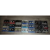 Аудиокассеты в ассортименте.
