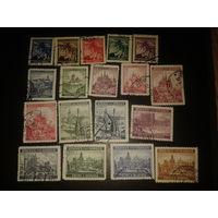 Германия. Рейх. Богемия и Моравия. 1939-1942 г. Полная серия 18 марок.