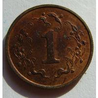 Зимбабве 1 цент 1980 г