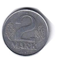 ГДР. 2 марки. 1977 г.