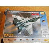 Модель самолёта МИГ-29 масштаб 1/72