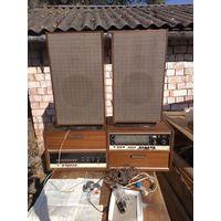 Стереофоническая радиола высшего класса ''Виктория-001-стерео'' с колонками см описание