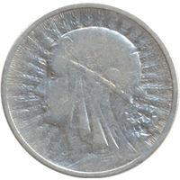 Польша 2 злотых 1933г. Ядвига
