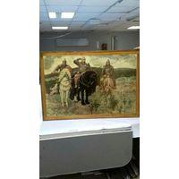 Картины репродукции три богатыря под лаком и натюрморт