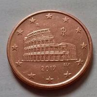 5 евроцентов, Италия 2017 г., AU