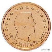 2 евроцента 2009 Люксембург UNC из ролла