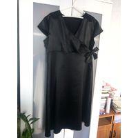 Черное платье Вечернее платье р.46