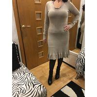 Платье 44 Испания 20% кашемира Подойдёт на большую грудь
