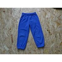 Флисовые штаны для мальчика или девочки, р.104