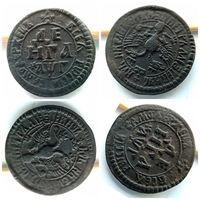 Очень редкая монета денга 1703 года, в очень, очень достойном состоянии!!! Сохранность XF, c самым незначительным минусом!!!