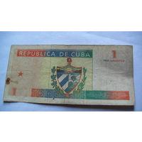Куба 1 песо 1994г.   распродажа