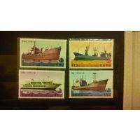 Корабли, флот, транспорт, марки, распродажа,  КНДР, 2003