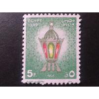 Египет 1989 фестиваль, светильник