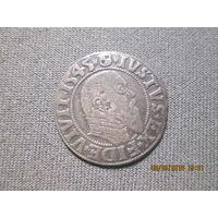 Пруссия герцогство Альберт II 1545 г.ГРОШ