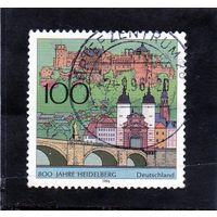 Германия. 600 лет городу Гейдельбергу. 1996