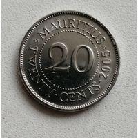 20 Центов 2005 (Маврикий)