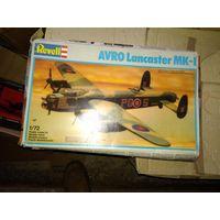 1/72 Revell Avro Lancaster Mk I -  модель выпуска 1988 года