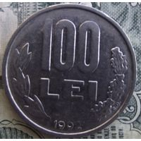 100 лей 1992