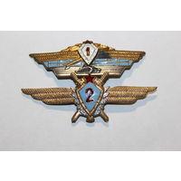 Знак классности ВВС СССР, 2-ой класс+общевойсковая 1-ый класс., обе из тяжёлого металл.