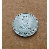 Дания, 2 эре 1972 г., Фредерик IX (1947-1972)